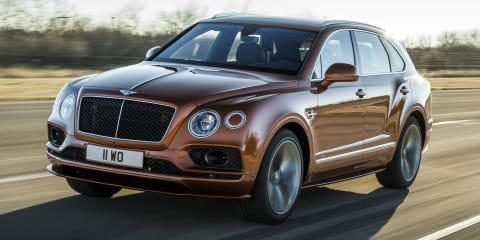 2020 Bentley Bentayga Speed unveiled - UPDATE