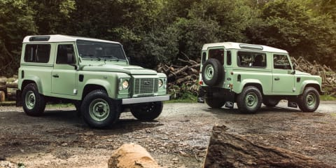 Land Rover Defender : Final year of production kicks off with special edition twins