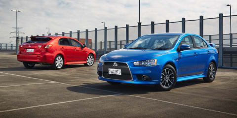 New Mitsubishi Lancer in-house design work underway - report
