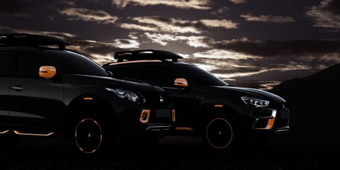 Mitsubishi Triton and ASX concept cars to be unveiled at 2016 Geneva motor show