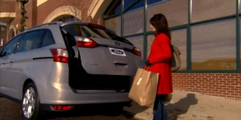 Video: 2012 Ford C-Max keyless hands-free boot operation
