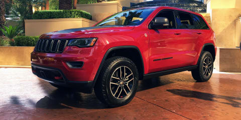 2017 Jeep Grand Cherokee Trailhawk:: Diesel engine for Australia, petrol not confirmed