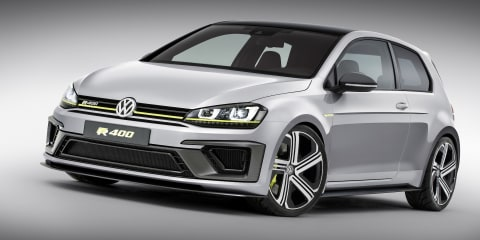 Volkswagen Golf R 400 – official images of mega-hatch