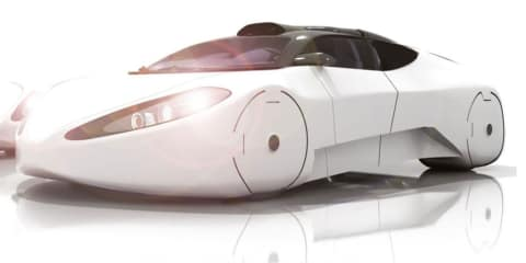 Halo Intersceptor concept car, boat, plane and helicopter