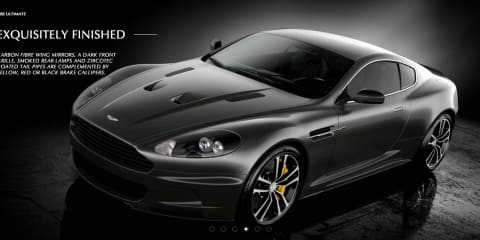 Aston Martin DBS Ultimate revealed online