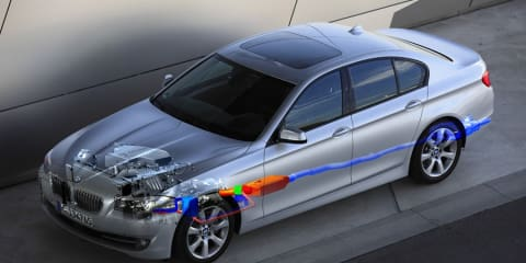BMW working on Turbosteamer and Thermoelectric Generator technology