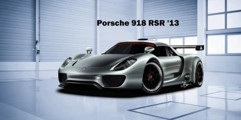 Porsche 918 Spyder coupe race car to debut at Detroit