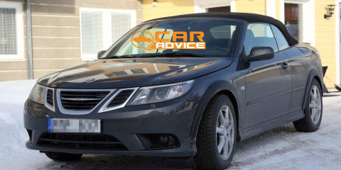 2012 Saab 9-3 mule spy photos
