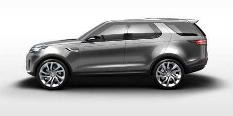 2015 Land Rover Discovery previewed by Vision Concept