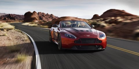 Aston Martin V12 Vantage S Roadster : British brand's fastest ever drop-top revealed