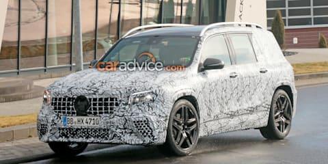 2020 Mercedes-AMG GLB35 spied