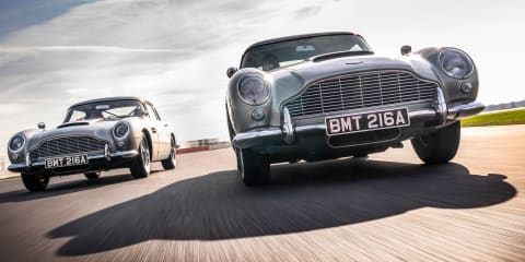 Driven: James Bond's Aston Martin DB5
