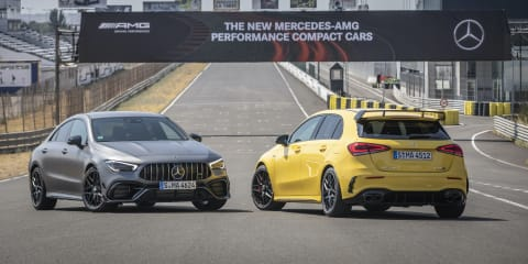 2020 Mercedes-AMG A45 S and CLA45 S pricing and specs