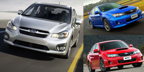 Subaru separates Impreza from WRX & STI