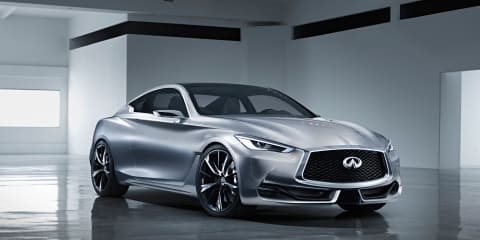 Infiniti Q60 concept unveiled ahead of Detroit debut