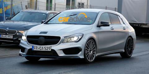 Mercedes-Benz CLA Shooting Brake confirmed for 2015