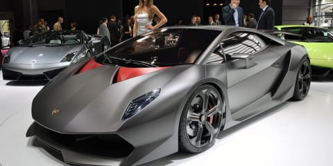 Lamborghini Sesto Elemento set for limited production
