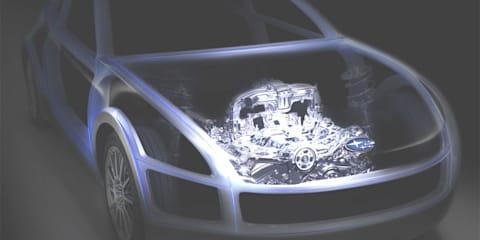 Subaru BOXER Sports Car Architecture FT-86 teaser images