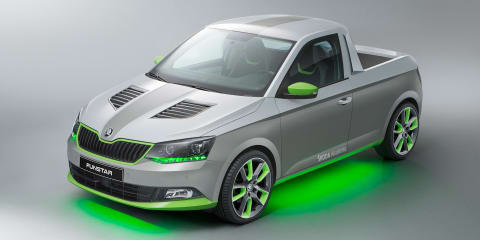 Skoda Funstar Fabia-based ute created by apprentices