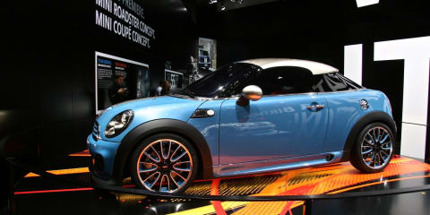 MINI Coupe Concept at Frankfurt Motor Show