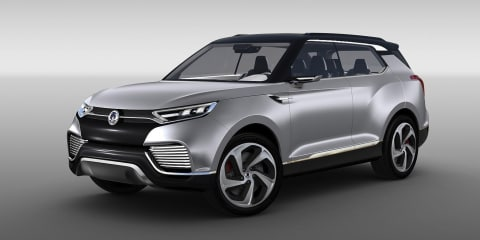 Ssangyong X100 medium SUV confirmed for 2015 - report
