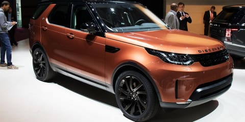 2017 Land Rover Discovery revealed in Paris: Full details on big new family SUV