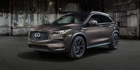 2018 Infiniti QX50 revealed, confirmed for Oz - UPDATE