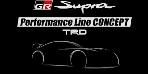 Toyota Supra Performance Line concept teased