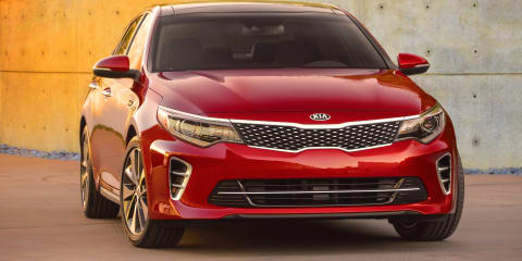 2016 Kia Optima: Bigger sales expectations