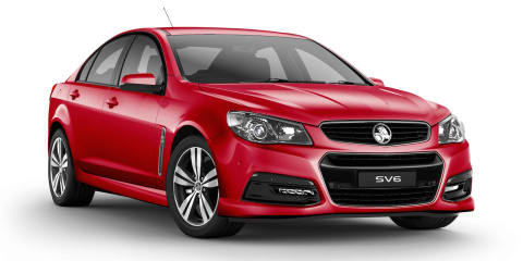 Holden Commodore SV6 Lightning special edition here in March