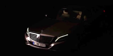 Mercedes-Benz S-Class teased ahead of reveal