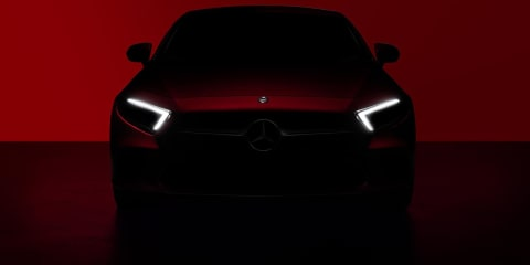 2018 Mercedes-Benz CLS teased