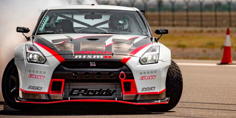 Nissan GT-R Nismo breaks drifting world record