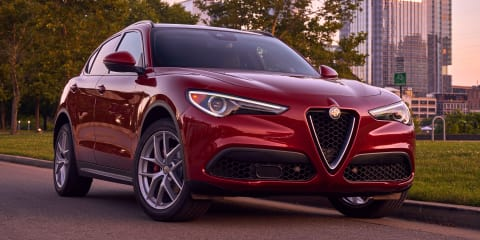 Alfa Romeo Stelvio Ti coming Down Under