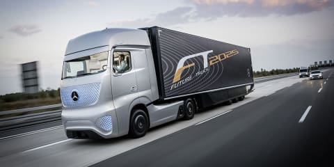Mercedes-Benz Future Truck 2025 concept debuts with autonomous highway driving system