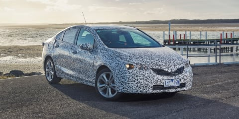 2017 Holden Astra sedan review: Prototype drive