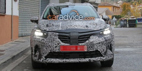 2019 Renault Captur spied again