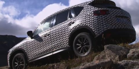 Mazda CX-5 prototype promotional footage: video