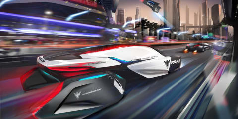 BMW ePatrol: 2025 vision for a Californian pursuit vehicle