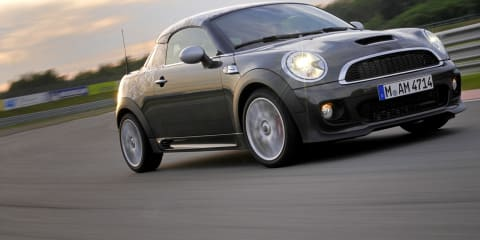 2012 MINI Coupe on sale in Australia Q4 2011