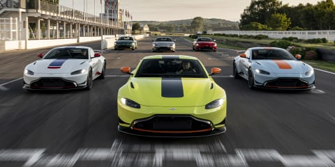 Aston Martin Vantage Heritage Racing Editions revealed - UPDATE