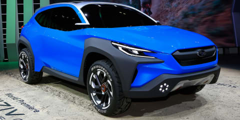 Subaru VIZIV Adrenaline concept revealed