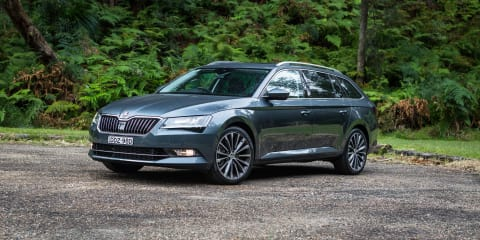 Skoda Superb showing strong sales, giving brand's premium slant traction