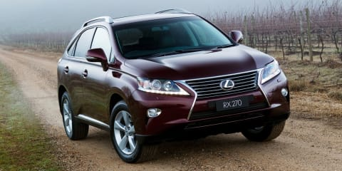 Lexus NX200t, NX300h: trademark applications hint at new baby SUVs