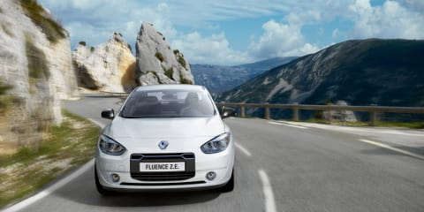2012 Renault Fluence Z.E. to become UK's cheapest EV