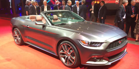 Ford Mustang Convertible unveiled in Australia
