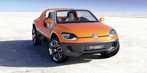 Volkswagen Buggy Up design patented