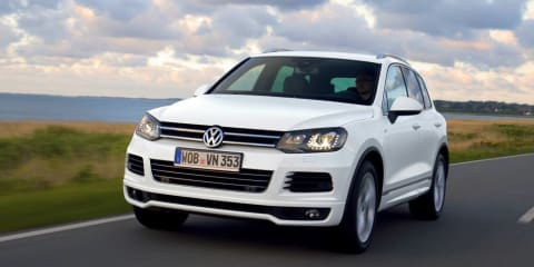 Volkswagen Touareg V8 TDI R-Line: sports flagship for local line-up