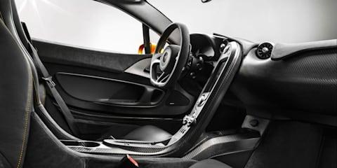 McLaren P1 interior revealed: Brits go carbonfibre crazy