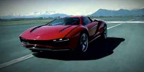 ItalDesign Giugiaro Parcour: 'all-terrain' supercar revealed on video
